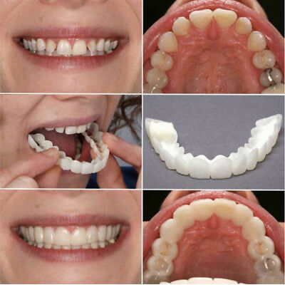 1X Silicone Protège Simulation Dent Blanche Dentisterie Blanchiment Dentaire NF