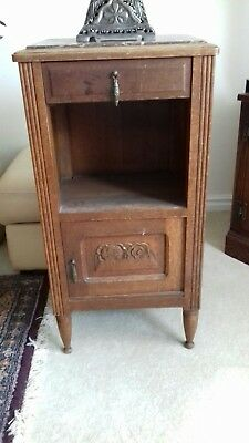 Marble top cupboard