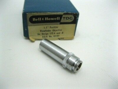 """Bell and Howell Filmo 1.5"""" Positive viewfinder for Design 172A and B"""