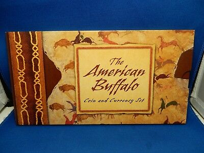 The American Buffalo Coin & Currency Set - Includes 2001 Silver Dollar Coin