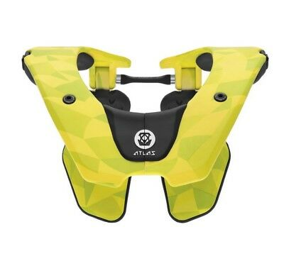 Atlas Brace Air Neck Brace Neon Prism Lime LG