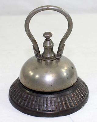 Rare Antique c.1870 Hotel Reception Counter Bell Store Front Counter Bell