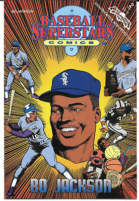 1991 Bo Jackson Baseball Superstars Comic NM