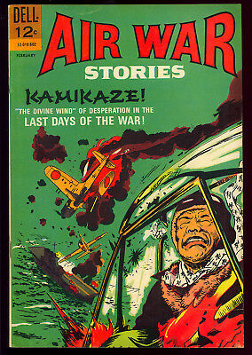 Air War Stories #6 High Grade Painted Cover Dell File Copy Comic 1966 VF