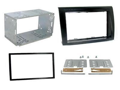 Radio CD Double Din Panneau Avant fascia panel Surround CT23FT02 pour FIAT DUCATO