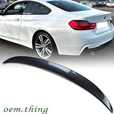 PAINTED BMW 4-Series F32 Coupe Performance Boot Trunk Spoiler 435i 2019