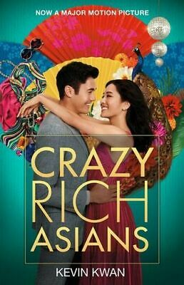 NEW Crazy Rich Asians By Kevin Kwan Paperback Free Shipping