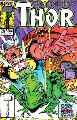 Thor (1st Series Journey Into Mystery) #364 1986 FN Stock Image