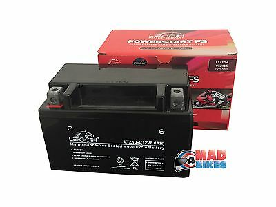Leoch YTZ10S Super Sealed AGM Motorcycle Battery 2 Year Guarantee YTZ10-S