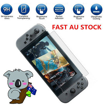 Ultra-Thin 9H Premium Real Tempered Glass Film Screen Cover 2Pcs For Nintendo