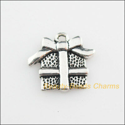 10Pcs Tibetan Silver Tone Christmas Gifts Charms Pendants 15x16.5mm
