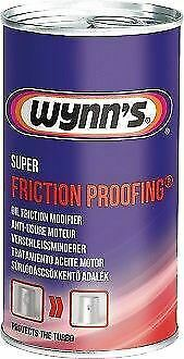 Wynns 66963 Super Friction Proofing 325ml Engine Additive Treatment Lubricant