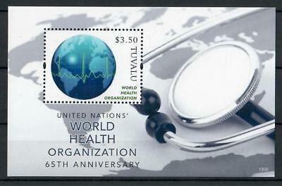 Tuvalu 2013 Block Sheet 200** MNH WHO Weltgesundheitsorganisation UNO