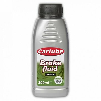 Carlube BFL300 Brake Fluid FMVSS 116 DOT 4 SAE J1704 300 mL Synthetic 0.3L