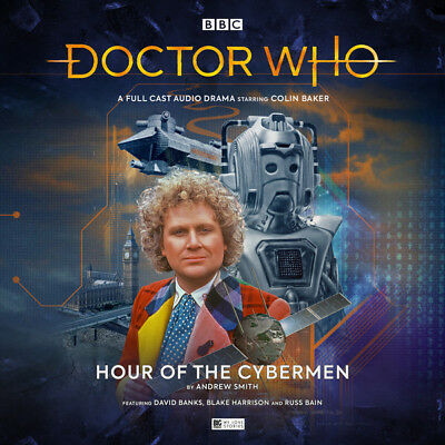 New Sealed Big Finish Dr Doctor Who Hour Of The Cybermen 2Cd Colin Baker