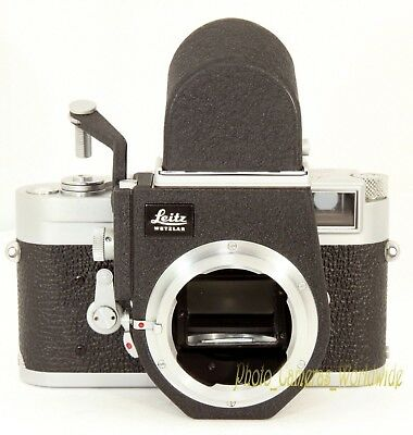 Visoflex III + OTXBO Finder - LEITZ Accessory Turning Leica Rangefinder into SLR