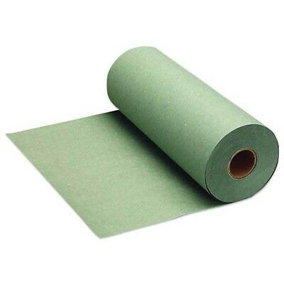 """12"""" Wide Green Economy-Grade Paint Masking Paper, Made in USA #7200-91"""