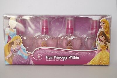 DISNEY TRUE PRINCESS WITHIN  - BODY MIST 4 x 20 ML _ 4 STÜCK/ SETS '#92-12-2