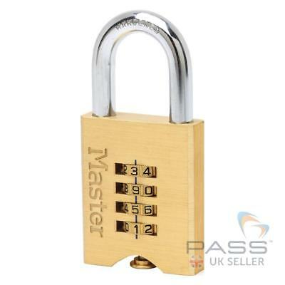 *SALE* Master Lock 651EURD Solid Brass Combination Security Padlock