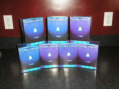 Star Trek The Experience : 7 Ornaments - Mint in Boxes