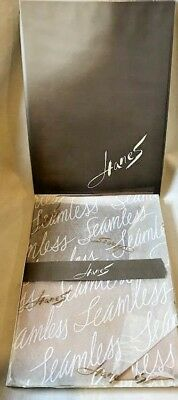 Hanes Vintage Stockings  Sheer Heel Demi Toe 3 pr. Mayfair Size 11 M 615