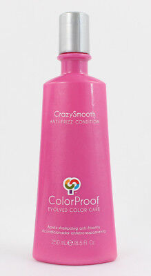 Crazy Smooth NWOB Color Proof Anti Frizz Vegan Conditioner 8.5 FL Oz 250 mL