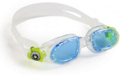 Aqua Sphere Moby Kids Swim Goggles with Blue Tinted Lens
