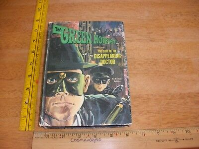 The Green Hornet: Disappearing Doctor by Brandon Keith HC Vintage 1966 GREAT!