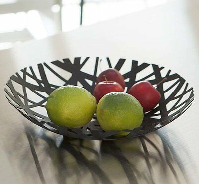 Yamazaki TOWER FRUIT BOWL Metal Nest BLACK Contemporary Design