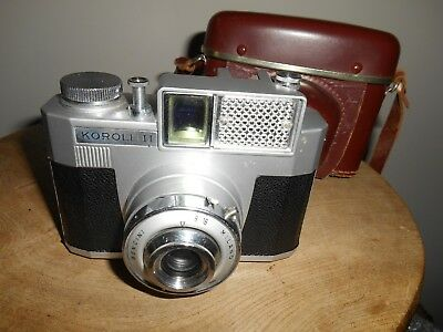 Scarce KOROLL 11 with fixed BECINI MILANO lens