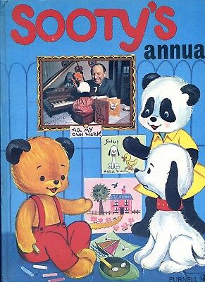 1971 Sooty's Annual Published by Purnell