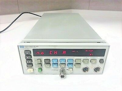 Agilent HP Keysight  438A Power Meter with Option 002