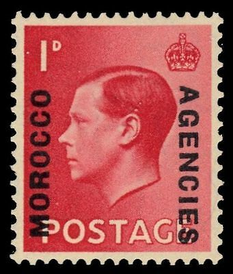 BRITISH OFFICES in MOROCCO 244 (SG75) - King Edward VIII (pf47904)