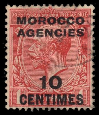 BRITISH OFFICES in MOROCCO  403 (SG193) - King George V (pf47910)