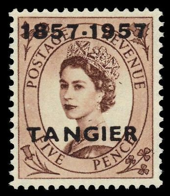 BRITISH OFFICES in MOROCCO 599 (SG330) - Queen Elizabeth II (pf47891)
