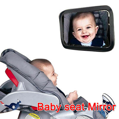 New Car Baby Child Seat Inside Mirror View Back Safety Rear Ward Facing Care AU