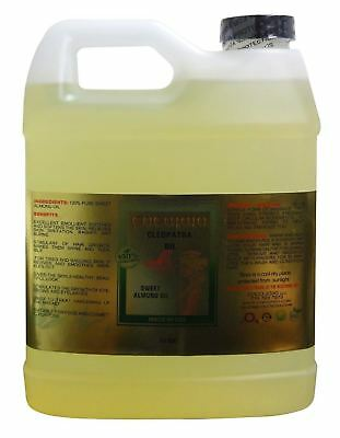 33 oz ORGANIC PURE SWEET ALMOND OIL - UNREFINED COLD PRESSED CARRIER