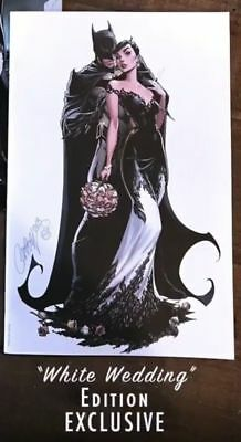 Batman #50 SDCC 2018 Exclusive J Scott Campbell White Wedding Variant