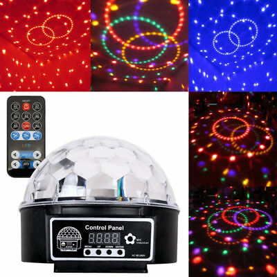 DJ Discokugel RGB Lichteffekt Kugel Automatik LED Party Bar Disco Pubs