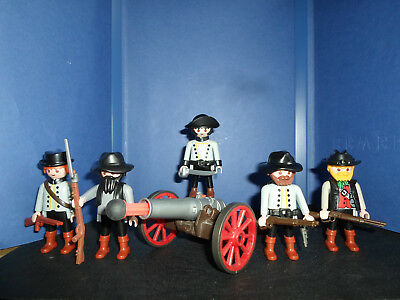 5 Südstaaten Soldaten Civil War 1861 - 1865 Top Playmobil Western