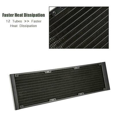 120/240/360mm Water Cooling Tube CPU Cooler Row Heat Exchanger Radiator for PC