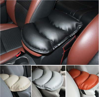 PU Car SUV Center Box Armrest Console Soft Pad Cushion Cover Durable Wear