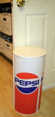 Vintage *pepsi-Cola* Stand Up Blow Up Promo Table Rare!never Used Condition!!