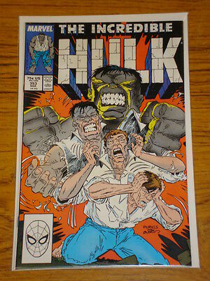 Incredible Hulk #353 Vol1 Marvel Comics March 1989
