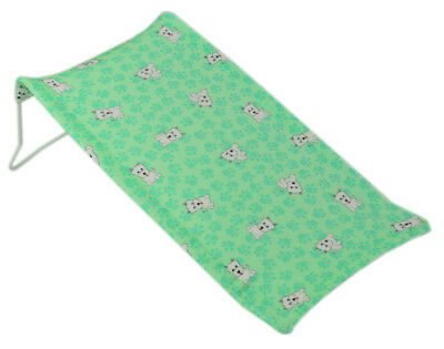 Baby Newborn Infant Safety Water Tub Bath Support Pad Seat Baby Bath Mat Green 1