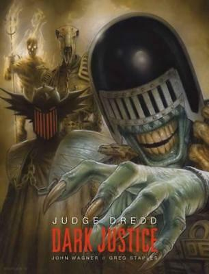 Judge Dredd: Dark Justice by Greg Staples, John Wagner | Hardcover Book | 978178