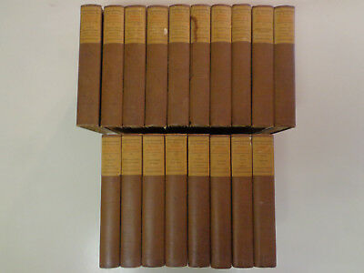 Shakespeare's Works - 18 Volumes 1912 Antique Book Lover's Edition Decorative
