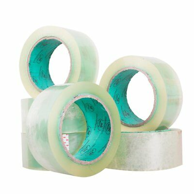 extra long length clear packing tape 48mm x 91 metres long strong and sticky