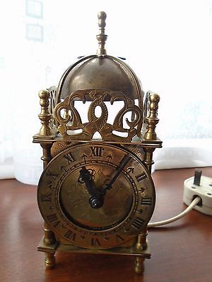 Smiths Lantern Clock with Electric original movement in working order