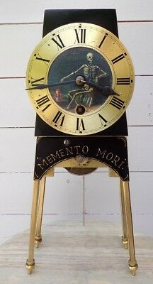 Old Fusee A Frame Clock Conversion Gothic Theme Unusual